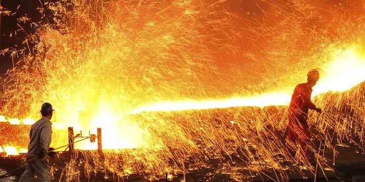 Tarihi rekor çelik üretiminden