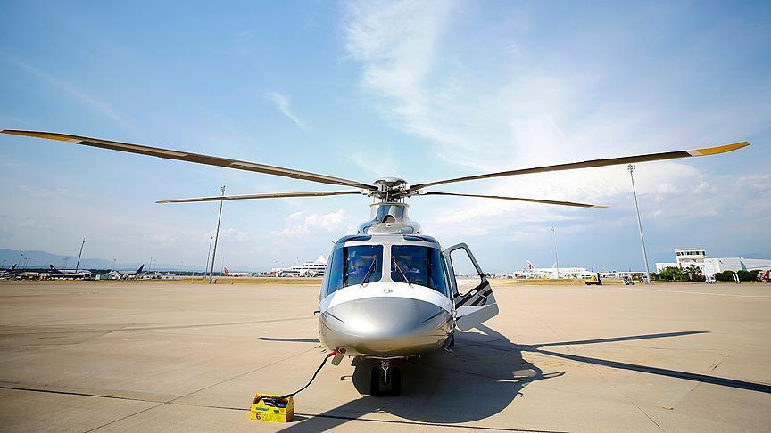 Eurasia Airshow'da modifiye helikopter