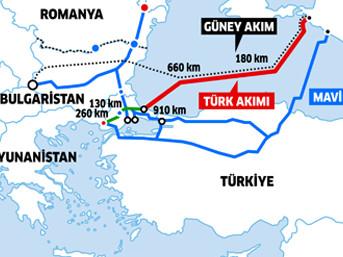 Türk Akım Projesi Tebliği Resmi gazetede yay