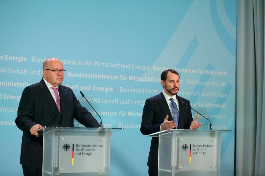 Alman enerji bakanı 'Yakın çalışma kararı aldık' d