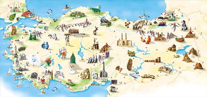 Turistin arzu ettiği her şey Türkiye'de var