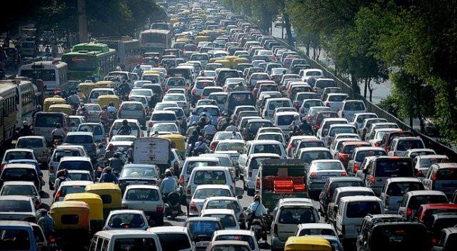 Trafiğe kayıtlı araç sayısı yüzde 8,1 azaldı