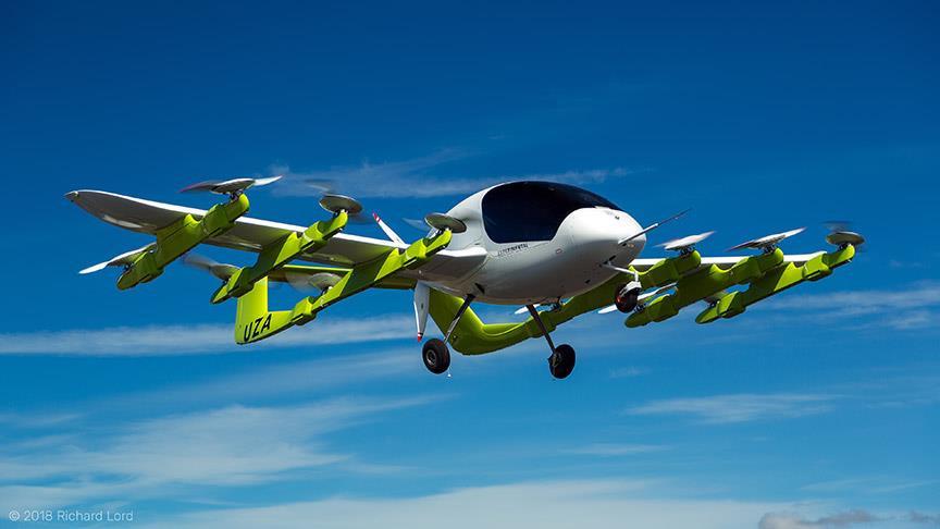Uçan taksi karbon salınımını sıfırlayacak