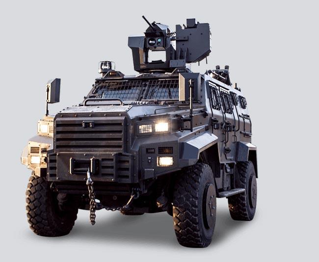 Katar`a Türk zırhlı ordusu