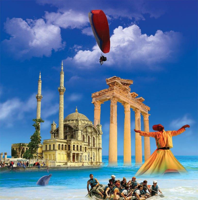 Turizmde türkiye geliri yükselişte