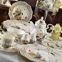 Kütahya Porselen Bone c 38 Parça Kahvaltı Takımı