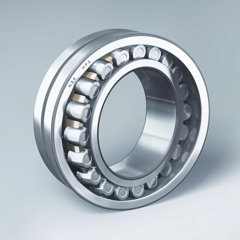 Silindirik Makaralı Rulmanlar - NU2 Serisi, Çelik / Polyamid Kafes