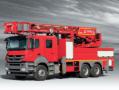 Hydraulic Stair Fire Brigade Vehicle