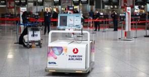Türk Hava Yollarına akıllı bagaj robotu
