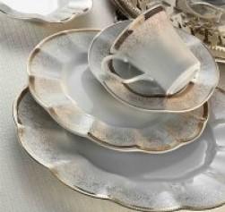 Kütahya Porselen Nil 83 Parça Yemek Takımı Bant Dekor 6274/3