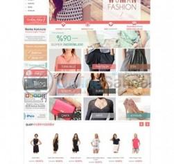 Moda,çanta,ayakkabı,tekstil Ürünleri Satışı için E-ticaret Sitesi Paketi